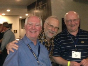 Matt Walsh, Tom McCann, and Tom Gibbs