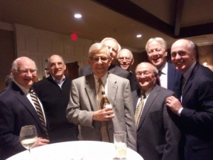 Jan. 29, 2014: Tom Gibbs, Tom Weyer, Gene Cavanaugh, Dave Kabat, Dennis Toolan, Bryan Dunigan, Tom Moore, Tom Figel