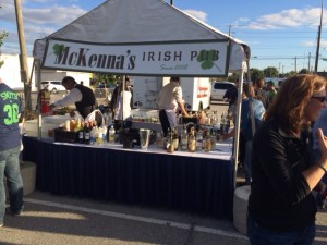 Here come the Irish. . . to the Purdue tailgate hosted by Tom McKenna and Mike Browning.