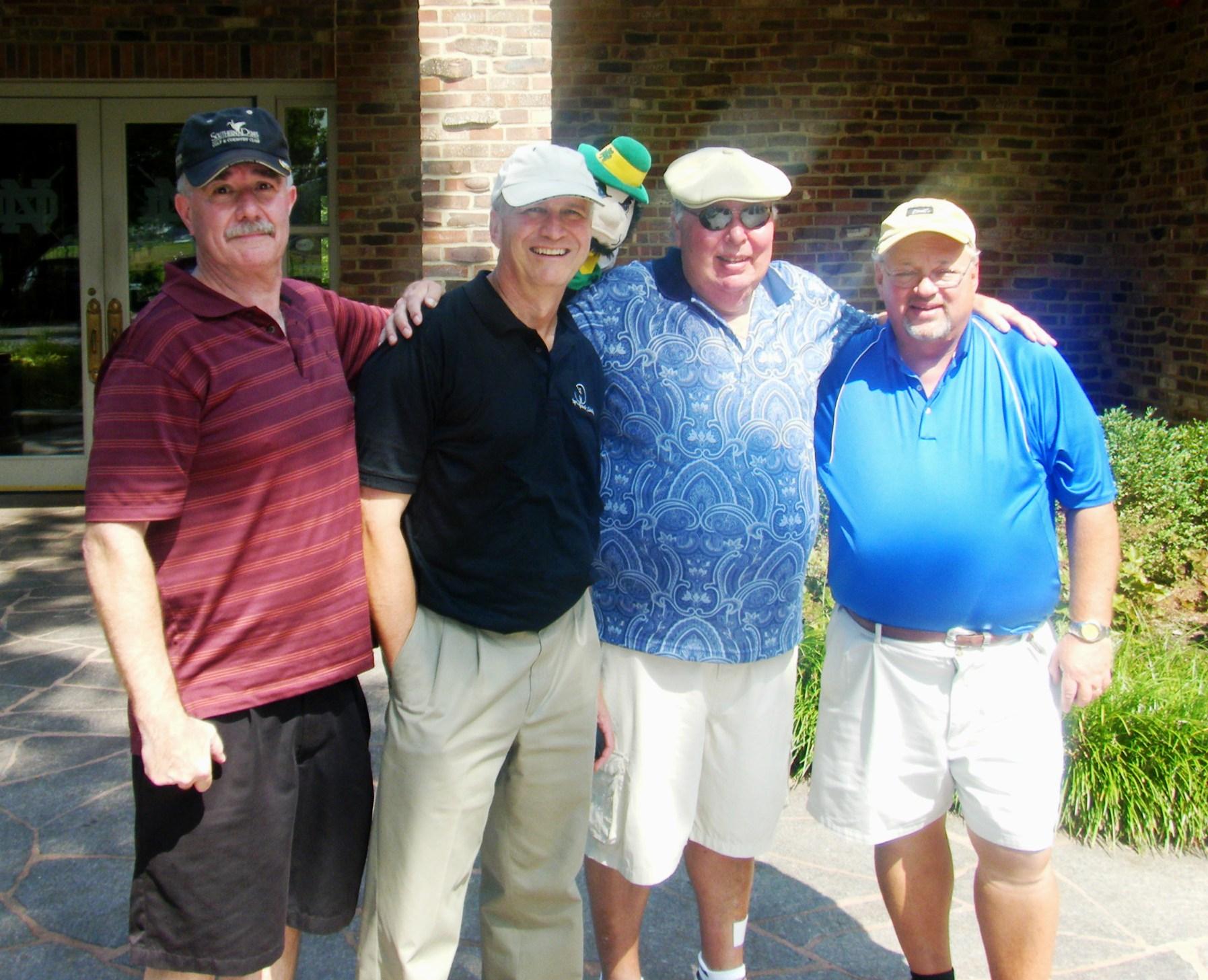 Fall 2010: Jack Gilmour, Doug Lubbers, Jack Burkhardt, Ken Castrop