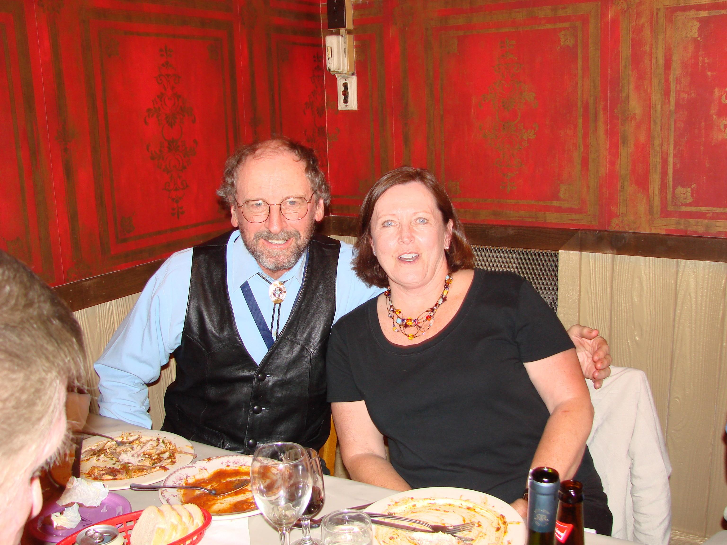 John McCoy and Maureen McAtee at Sunny Italy