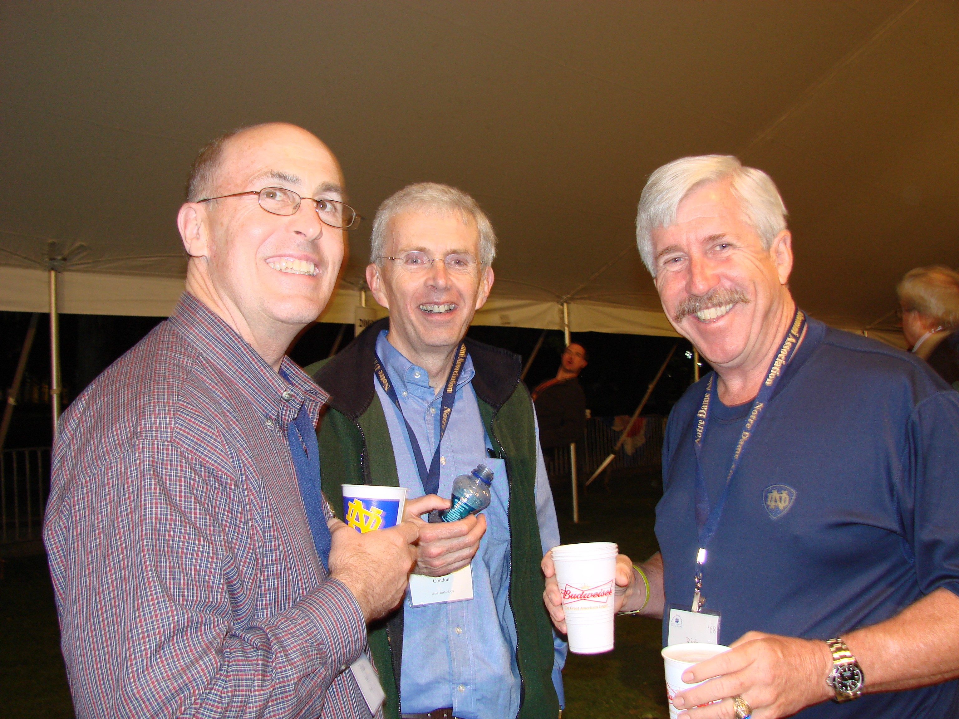 Tom Figel, Tom Condon and Rich Rogers