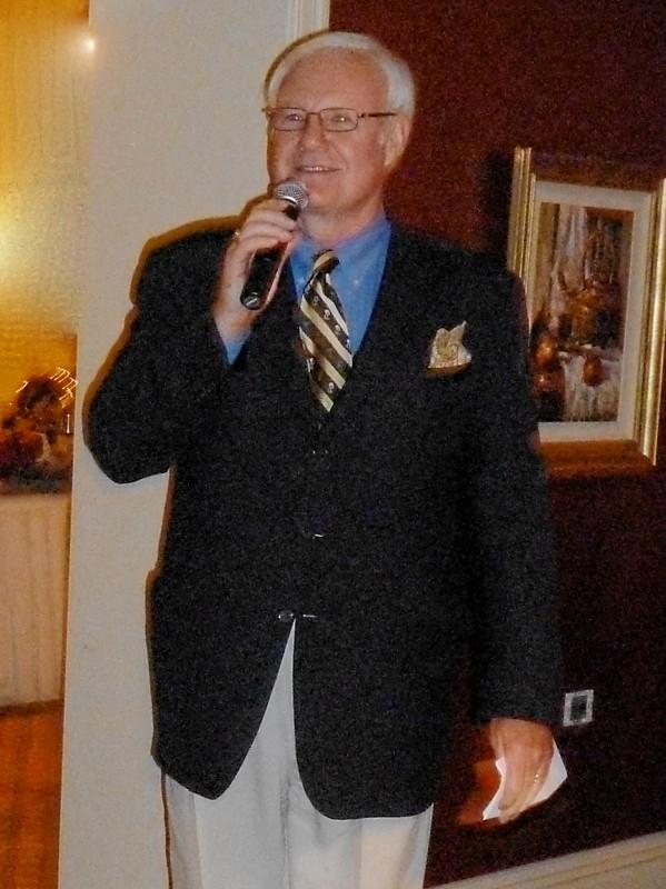 Tom Weyer speaking about Sandy Carrigan June 17, 2011