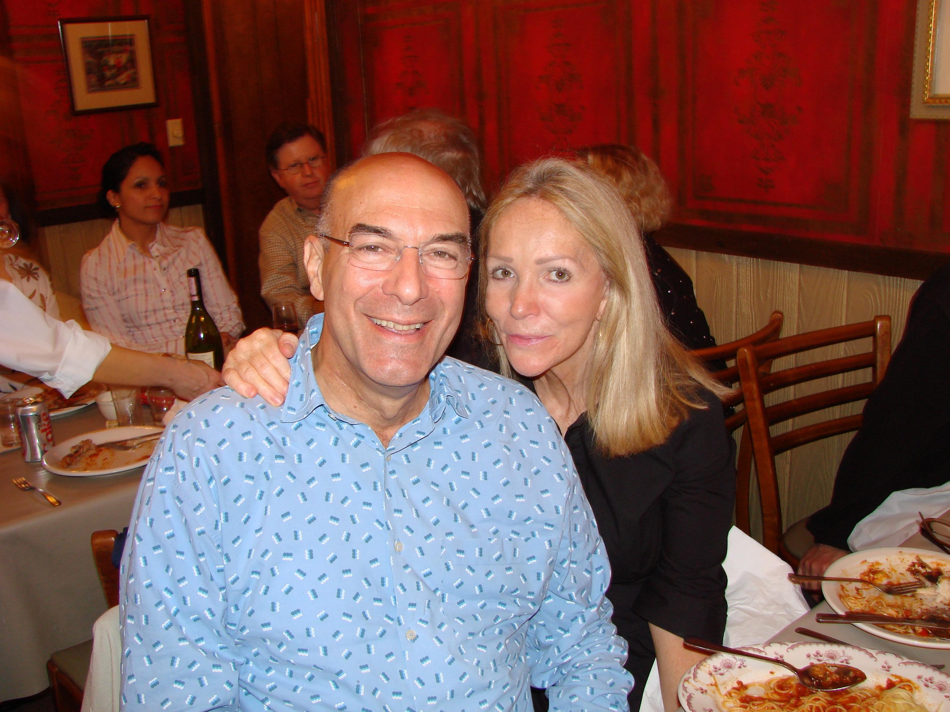 Jim Davis and Sandra at Sunny Italy May 29th