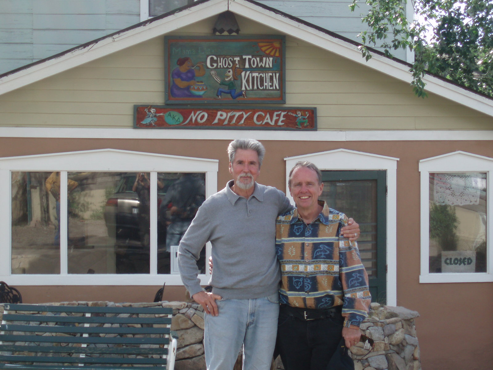 Joe Brennan and Don Hynes – thinking of Tom Thurber in New Mexico