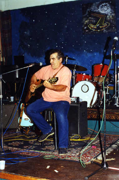 Tom Thurber rockin' & rollin' at 1998 reunion, New Orleans -(photo from John Walsh)